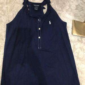 Ralph Lauren Girls tank top tshirt material